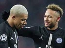 gianluigi buffon insists psg team-mates mbappe and neymar possess same pedigree as cristiano ronaldo