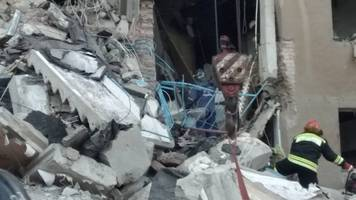 dozens missing after suspected gas explosion in russia