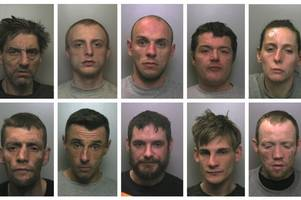 the 15 shocking stoke-on-trent court cases where criminals were high on monkey dust... here's what happened