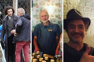 the famous people spotted in bath and somerset in 2018