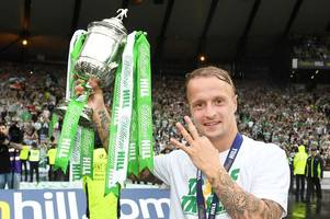 leigh griffiths tells celtic fans he'll be back 'doing what he does best' in 2019
