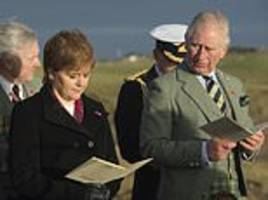 prince charles and nicola sturgeon attend memorial service for iolaire disaster