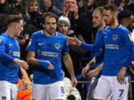 league one round-up: portsmouth go five points clear with win over wimbledon