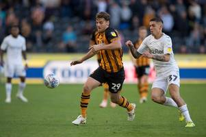 chris martin starts up front as hull city boss nigel adkins freshens up his side