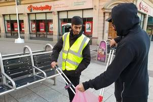 young welsh muslims help clean up country's streets after new year's eve celebrations