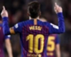 messi not at the same level as maradona or pele - zico