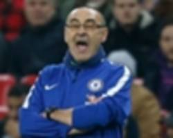 video: chelsea in trouble with wingers - sarri
