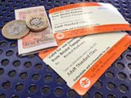 train passengers will stage protests over soaring fares at 18 major stations