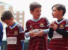 staggering costs of being a football mascot: west ham charge £700 while leicester ask £600