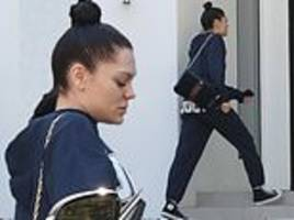 jessie j seen for the first time since her longtime security guard's death