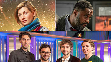 how doctor who, luther and the inbetweeners fared on new year