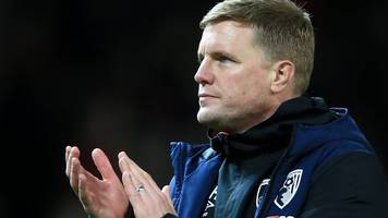bournemouth 3-3 watford: eddie howe praises 'never give up' attitude of players