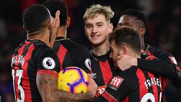 bournemouth 3-3 watford: draw after goal crazy first period
