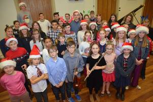 hundreds raised by young performers at christmas charity concert