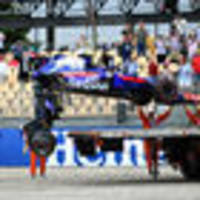 serious damage! toro rosso and brendon hartley's $4m damage bill