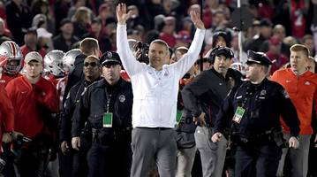 ohio state's rose bowl win ends urban meyer's final season on a complicated high note