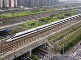 china to run driverless bullet trains at the speed of 217 miles per hour in a world first