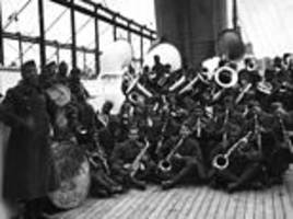 The black soldiers called the Harlem Hellfighters who brought jazz to Europe
