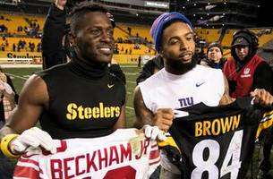 mark schlereth explains why he would choose odell beckham jr. over antonio brown