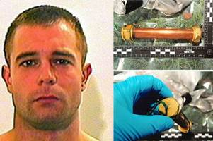 former royal marine commando caged after being snared with pipe bomb and cs gas in dundee flat