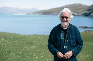Billy Connolly says he is 'near the end and can feel his life slipping away'