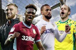 swansea city, leeds united, aston villa and norwich learn their fates in predicted championship table
