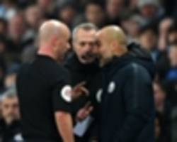 guardiola receives fa warning following liverpool outburst