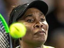 venus williams out of asb classic as 18-year-old qualifier bianca andreescu takes another scalp