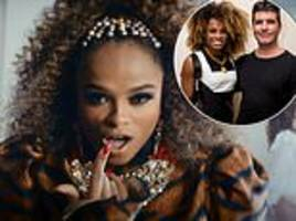 fleur east responds to that simon cowell 'jungle' remark as she releases energetic comeback single