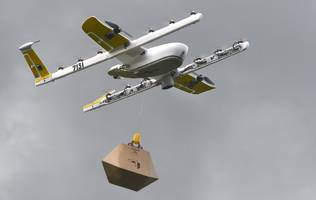 alphabet's drone delivery company is testing a quieter delivery drone after its original model annoyed townspeople and their dogs (goog, googl)