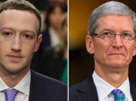 the $450 billion wipeout: apple's value has fallen by more than facebook's entire worth in three short months