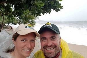 cornwall couple trapped in thailand in deadly storm pabuk