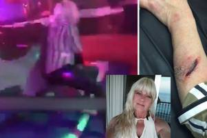 mechanical bull gores grandmother of six before she collapses bleeding in agony in scunthorpe nightclub