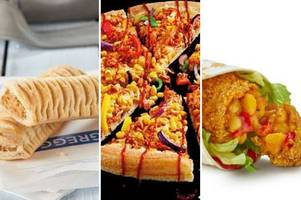 veganuary sees greggs and mcdonald's launch new veggie and vegan options