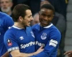 lookman scores first goal of the season as everton edge past lincoln city
