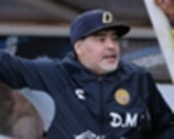 video: maradona discharged from hospital