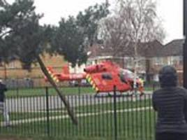 26-year-old man fighting for his life in hospital after being stabbed in forest gate, east london