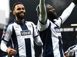 west brom 1-0 wigan: bakary sako sends baggies into the fourth-round
