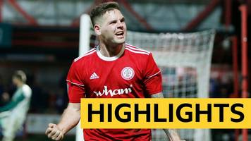fa cup: accrington stanley 1-0 ipswich town highlights