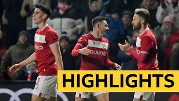 fa cup: bristol city 1-0 huddersfield town highlights
