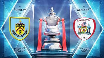 fa cup: burnley 1-0 barnsley highlights
