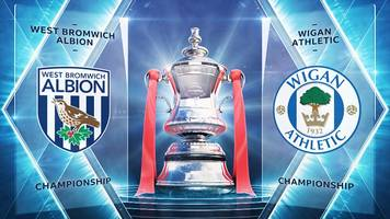 fa cup: west bromwich albion 1-0 wigan athletic highlights