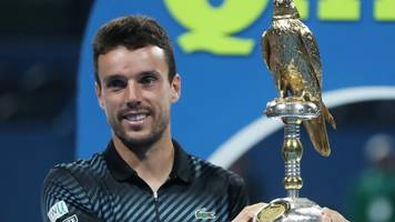 Bautista Agut beats Berdych to win Qatar Open