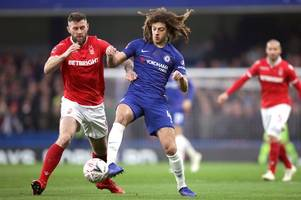 chelsea fans rave over 'brilliant' ethan ampadu performance in fa cup win over nottingham forest