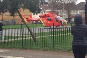 forest gate stabbing: man fighting for his life after being stabbed multiple times