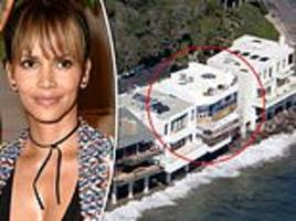 halle berry's home was looted by sea pirates during the malibu wildfires