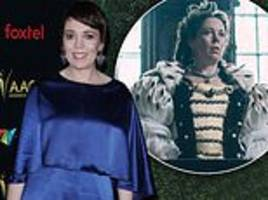 is hollywood about to crown queen olivia colman?