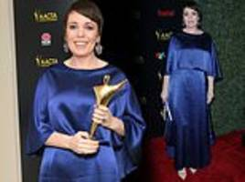 olivia colman wins best leading actress at the aacta international awards