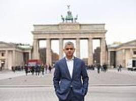 sadiq khan dubbed a 'diva' for staying in hotels while entourage made to rent rooms on trips abroad