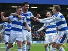 qpr 2-1 leeds: jake bidwell heads home the winner as rangers win first fa cup match in 22 years